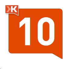 Klout Score Icon